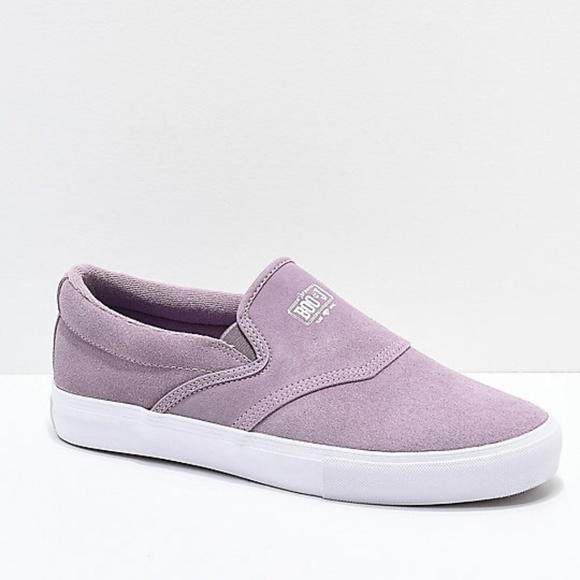 Diamond Supply Co Booj Lavender Slipon